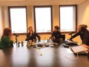 podcast over social media